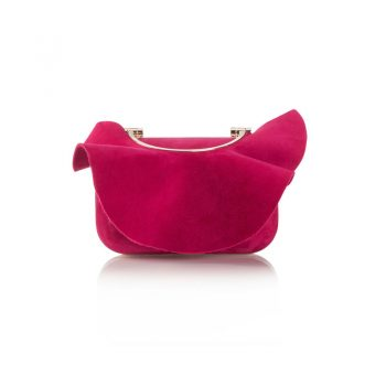 CLOUD---SUEDE-W-RUFFLE---RASPBERRY-(2)