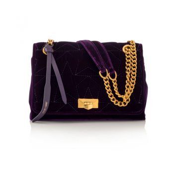 HELIA-SHOULDER-BAG---STAR-MATELASSE-VELVET---AMETHYST