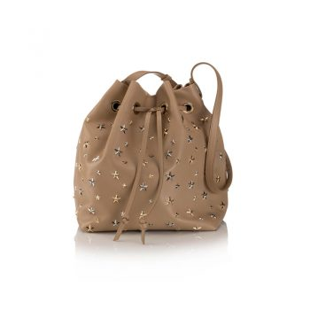 JUNO---LEATHER-W-MULTI-METAL-STARS---NUDE,-METALLIC-MIX