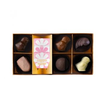 Spring Chocolate Gift Box 9pcs