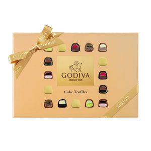 Cube Truffles Chocolate Gift Box 24pcs