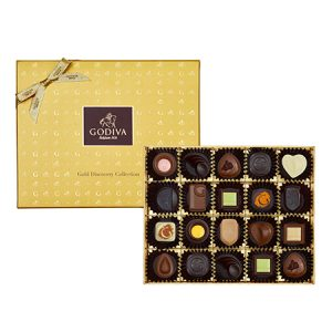 Gold Discovery Chocolate Gift Box 20pcs._group