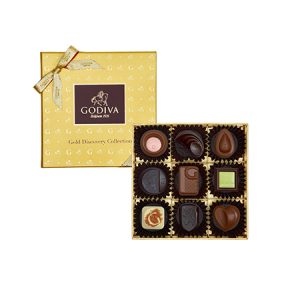 Gold Discovery Chocolate Gift Box 9pcs._group