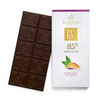 PURE 85% Dark Chocolate Tablet 3