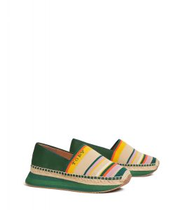 TB Daisy Slip-On Trainer 57309 in Canyon Stripe-Equestrian Green (2)