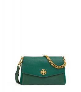 TB Kira Mixed-Matierals Cross-Body 58477 in Malachite