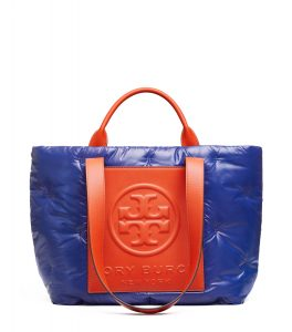 TB Perry Bombe Nylon Tote 56255 in Bright Indigo