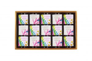 Summer Romance Chocolate Carré Gift Box 15pcs.