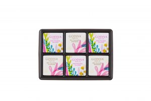 Summer Romance Chocolate Carré Gift Box 6pcs.