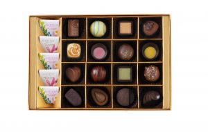 Summer Romance Chocolate Gift Box 21pcs.