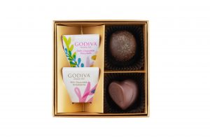 Summer Romance Chocolate Gift Box 4pcs.