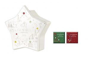 Holiday Ornament Star with Chocolate CarrÇ 8pcs_2