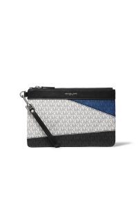 Michael Kors Mens Color-Block Logo Travel Pouch RM809