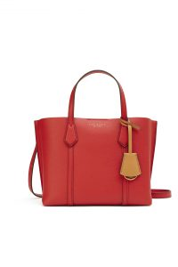 TB Perry Small Triple-Compartment Tote 56249 in Brilliant Red_RM1650